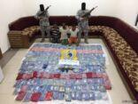 احباط تهريب مادة الحشيش المخدر بمنطقة مكة