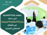 تحقيقاً لمستهدفات رؤية المملكة 2030.. وزارة التعليم ترفع  نسبة إسناد تدريس البنين في مرحلة الطفولة المبكرة لمعلمات إلى 45٪ 